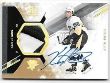 2013-14 SP Authentic Kris Letang Auto Patch Jersey Patch 3 Colors 33/100 RARE