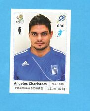PANINI-EURO 2012-Figurina n.100- CHARISTEAS - GRECIA -NEW-WHITE BOARD