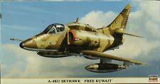 Hasegawa 1:48 A-4KU Skyhawk Free Kuwait Plastic Aircraft Model Kit #09729