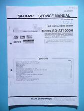 Service Manual-Anleitung Sharp SD-AT1000H ,ORIGINAL