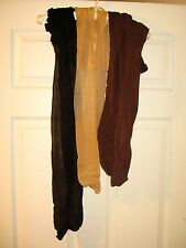 Lot Of 3 Pairs Used Pantyhose