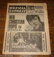 NME 1 JULY 1966 CLAUDE FRANCOIS TROGGS BEATLES ROY O WALKER BROS LOS BRAVOS