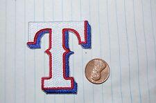"""Texas Rangers Retro Cap Logo 1994-2000 2 1/2"""" Logo Patch Baseball"""