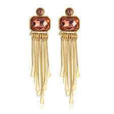 Spargz Statement New Fashion Party LCT Stone Long Earrings For Women AIER 687
