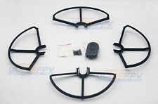 SNAP ON/OFF PROP GUARD 4x BLACK QUICK RELEASE DJI PHANTOM 1 2 3 FIT ALL VERSION