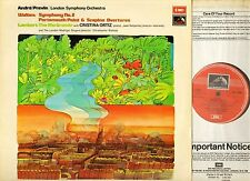 ASD 2990 PREVIN walton symphony no 2/portsmouth point & scapino overtures LP