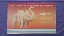 Maquette Animal De La Jungle – Eléphant Jamais Déballer.