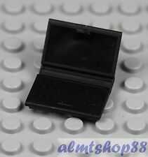 LEGO - Black Laptop Notebook Computer - Minifigure Accessory Utensil Macbook