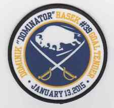 RETIREMENT PATCH FOR DOMINIK HASEK BUFFALO SABRES JERSEY PATCH NHL PATCH