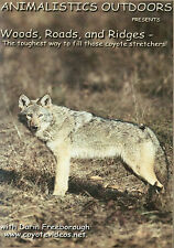DVD:Freeborough-WOODS, ROADS, & RIDGES, Coyote Trapping, predator, traps, trap