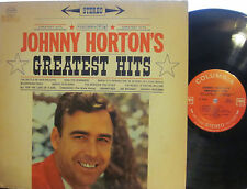 "Johnny Horton - Greatest Hits  (360 Columbia CS 8396) (""Battle of New Orleans"")"