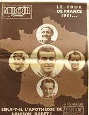 Miroir Sprint n°264 - 1951 - Le Tour de France 1951 - Ockers - Koblet - Coppi -