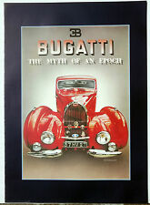 (PRL) BUGATTI ADVERTISING VINTAGE AFFICHE POSTER ART PRINT FASHION ANNI 1970