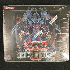 YGO - Factory sealed 1st Ed. Shadow of Infinity booster box