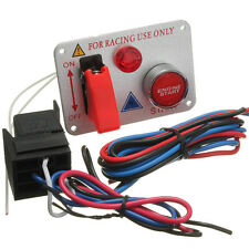 IGNITION ENGINE PUSH START BUTTON PANEL RACING CAR TOGGLE SWITCH COMPETITION KIT