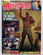 1982 FAMOUS MONSTERS Filmland Magazine 185 STAR TREK II