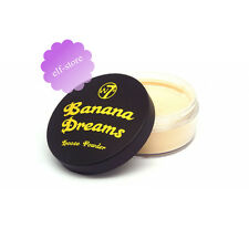 W7 Make Up Banana Dreams Loose powder Yellow Setting Face powder