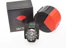 Sector Adventure 3H Solar Black Dial R3251198025  PVD nero C93