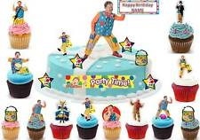 MR TUMBLE Cbeebies Polly Lord Grandad Fairy Cup Cake Scene Toppers Wafer Edible