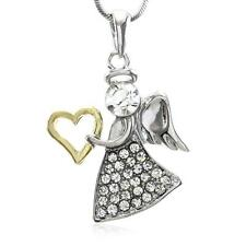 Christmas Holiday Gift Present Angel Wing Necklace Pendant Charm for Girls Women