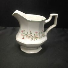 "Johnson Brothers China ETERNAL BEAU 4"" Cream Pitcher"