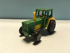 Diecast Majorette Tracteur No. 208 1/65 Green/Yellow Wear & Tear Good Condition
