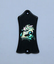 Truss Rod Cover with Dragon Inlay will fit Gibson