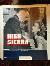 High Sierra - Selectavision Videodisc NOT A DVD- Buy 6 / Free shipping
