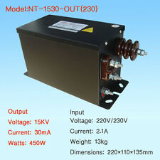 European Core Transformer 15KV30mA450W Neon Transformer Tesla Coil Transformer
