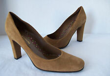 Women's ENZO ANGIOLINI Suede Pumps Heels High (3 in and Up) Tan 7.5 Medium