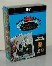 1991-92 Topps Stadium Club Hockey Wax Box 36 Packs