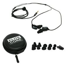 Elite Core EU-5X Sound Isolating In-Ear Earphones Earbud Plugs Extended Use MP3
