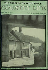 Through The Market Cross Castle Combe Wiltshire 1960 1 Page Photo Magazine Cover