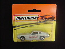 Datsun 280 Z ~ Coca Cola ~ Matchbox ~ Silver & Gray Base ~ nEw!