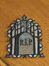 Embroidered Halloween - R.I.P. Tombstone
