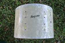 Rogers WHITE MARINE PEARL MARCHING SNARE DRUM SHELL for YOUR SET! LOT #C142