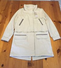 "$295 Soia & Kyo: ""Harper"" Canvas Convertible Anorak, Oatmeal - Size Medium"
