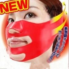 3D V-Line Face Sleeping Face Lift Slim Shaping Cheek Chin Strap Band Fashion -W