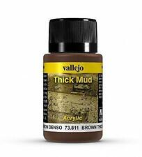 Vallejo Brown Thick Mud Model Paint Kit VAL 73811
