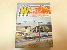 Walthers World of HO Scale 1988 Catalog Illustrated Trains HUGE 760 pages