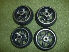 CRAFTSMAN OEM RIDING MOWER DECK WHEELS 4 PACK 174873 133957 HUSQVARNA POULAN