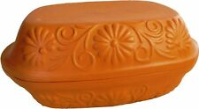 Ceramic Clay Roaster Baking Oven Dish Bread pan