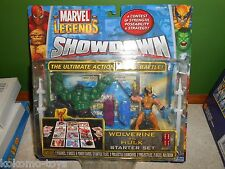 Toybiz Marvel Spider-Man Figure MOC - 2005 Showdown 3.75 Legends WOLVERINE HULK