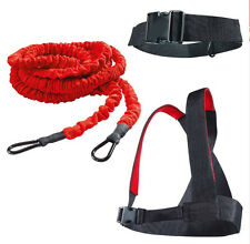 23ft Run Speed Explosive Force Trainer Resistance Bungee Band Strength Training