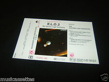 ELECTRIC LIGHT ORCHESTRA E.L.O.2 ELO NEW ZEALAND Unused Inlay Card