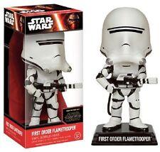 Star Wars - First Order Flametrooper - BOBBLE HEAD / WACKELKOPF / WOBBLER