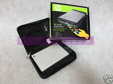 HP Pocket Media Drive 500GB External Pocket Drive HDD w/ Case + USB Data Cable