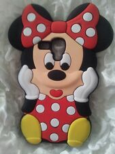 IT- PHONECASEONLINE SILICONE COVER S MINNIE RED PARA SAMSUNG GALAXY S3 MINI