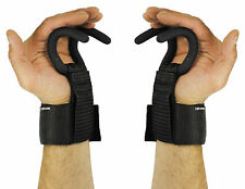 Garra De Águila Weight Lifting Hooks Gym Gancho Empuñaduras Correas Guantes