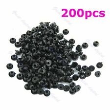 Rubber Grommets Nipples For Tattoo Machine Needles Armature Bar Supply 200pcs